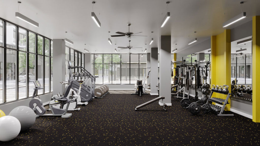 Dwell 2nd Street Fitness Center